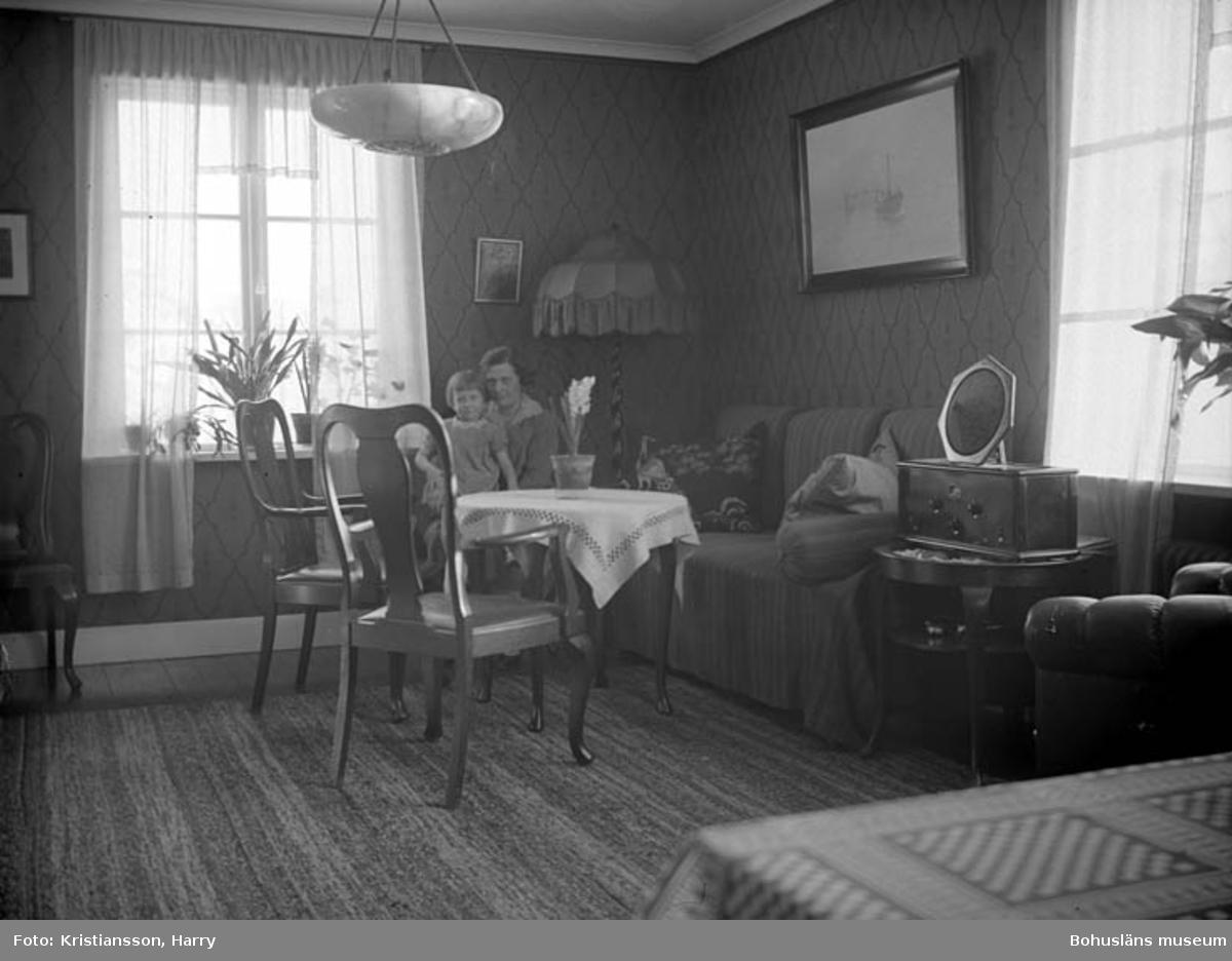 Vardagsrummet på Elsebergsgatan 23, Uddevalla