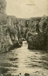 Fjordlandskap på Island