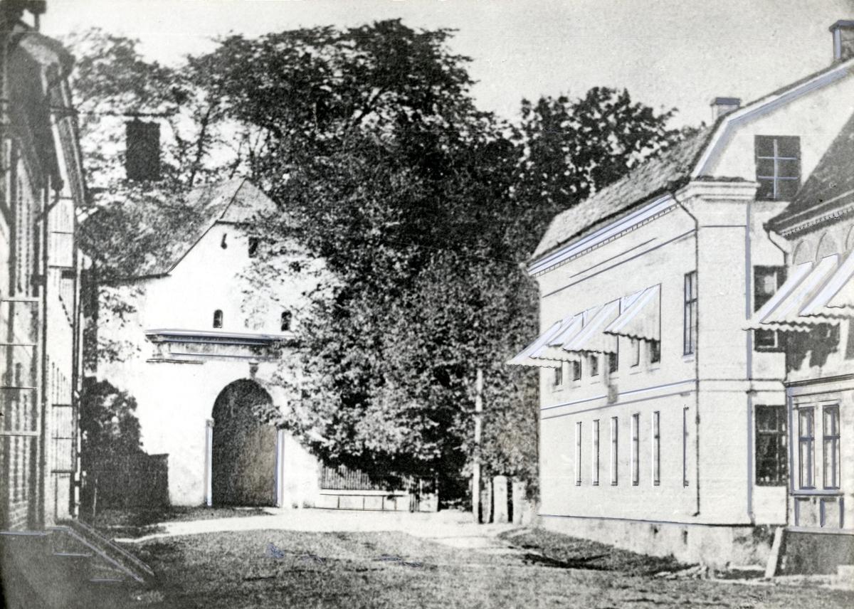 Norre Port I Halmstad Hallands Konstmuseum Digitaltmuseum