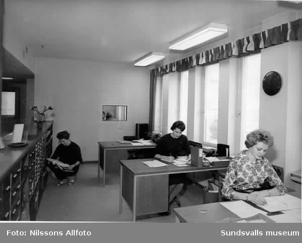 Försäkringsbolaget Skandias kontor.