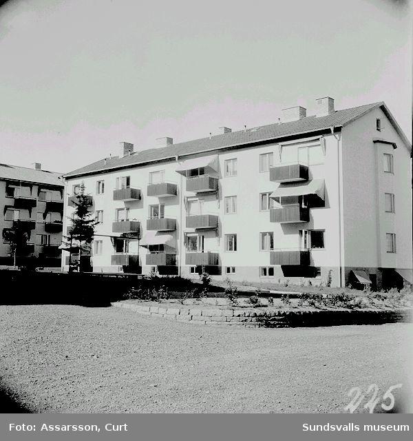 Hyreshus vid Bragevägen, Skönsberg.