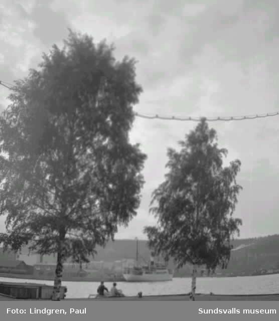 Vyer från bl a strömmingskanalen och Lillfjärden i Hudiksvall.