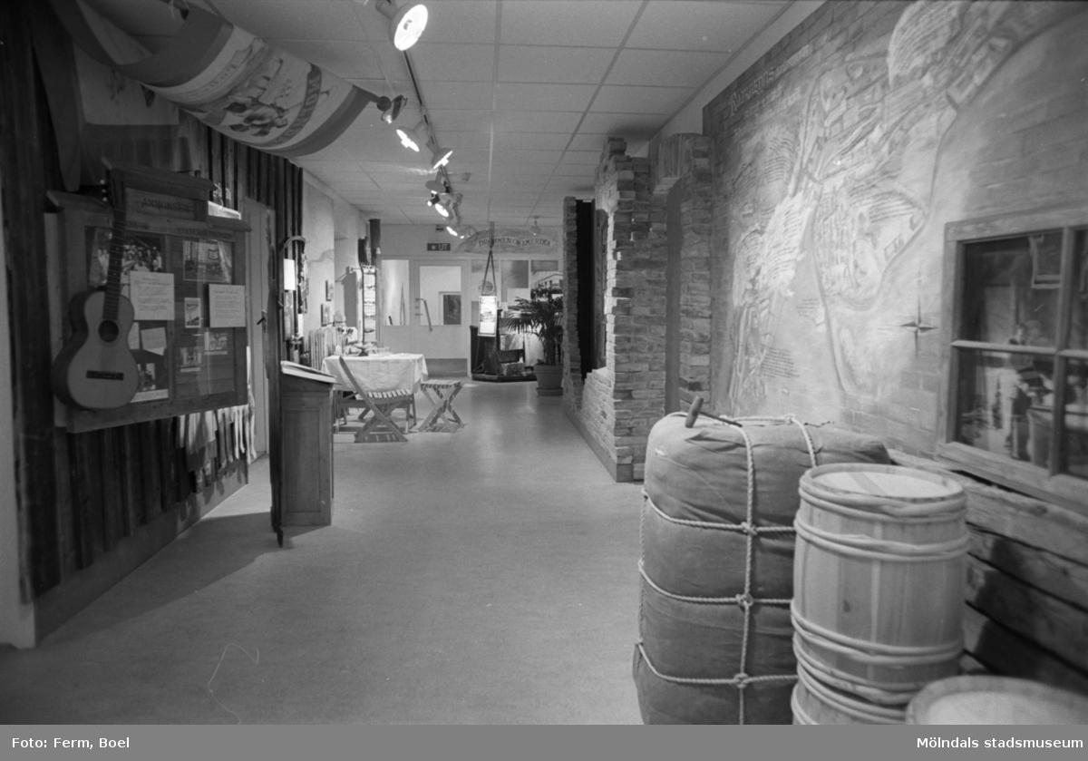 Mölndals museums basutställningar: Kvarnbyn.