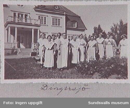 Medlemmar i Martha-föreningen vid DingersjöVärdshus Njurunda.