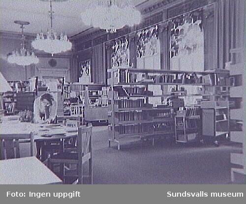 Sundsvalls stadsbibliotek. Köpmangatan 15.