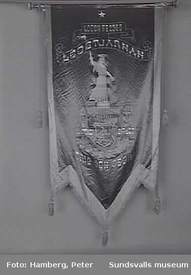 Ledstjärnan, IOGT, bildad 17/2 1897.Inlämnad 1992 från Logen Ledstjärnan, Njurunda.