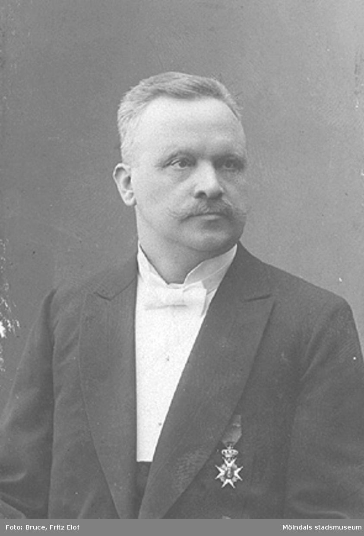 Gustaf Danielsson var disponent på Papyrus 1895-1911.Han hade tre döttrar som hette Karin, Maja och Greta.