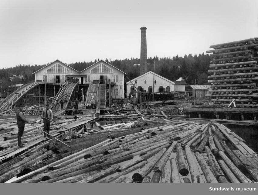 Karlsviks sågverk.