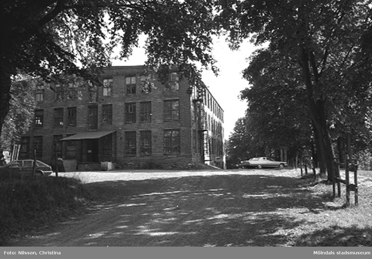 Werners fabriker, Annestorp, Lindome hösten 1994.
