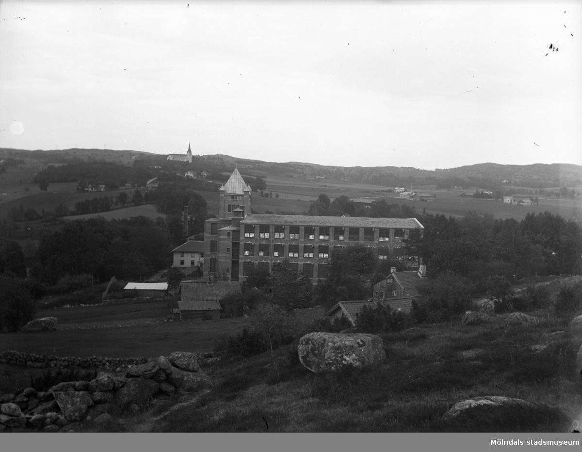 Vy över Annestorps fabriker, 1930 till 50-talet.
