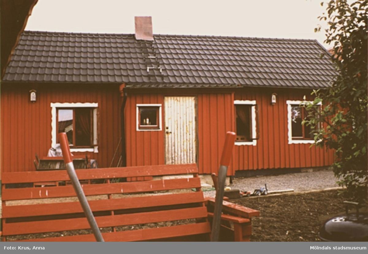 Fässberg 1:50. Boningshus sett från söder.