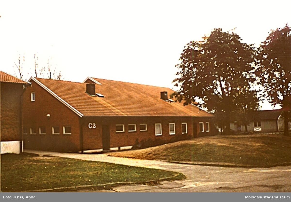 1950-talsbyggnad? i Lindome.