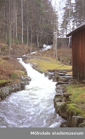 Rännan vid Djupedala vattenkraftverk - Djupedala 8:1.