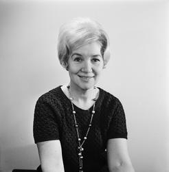 Skuespillerinnen Britta Lech-Hanssen.