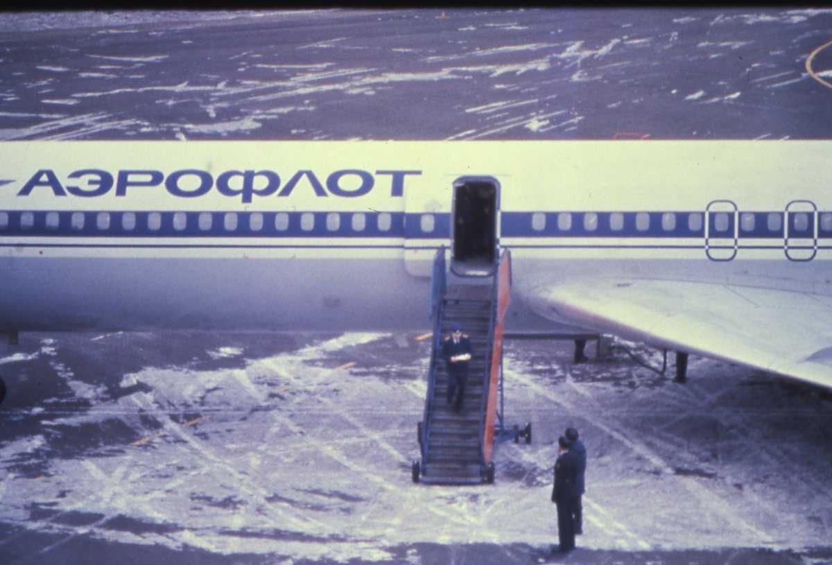 Russisk fly av typen Careless har landet på Svalbard (ENSB).
