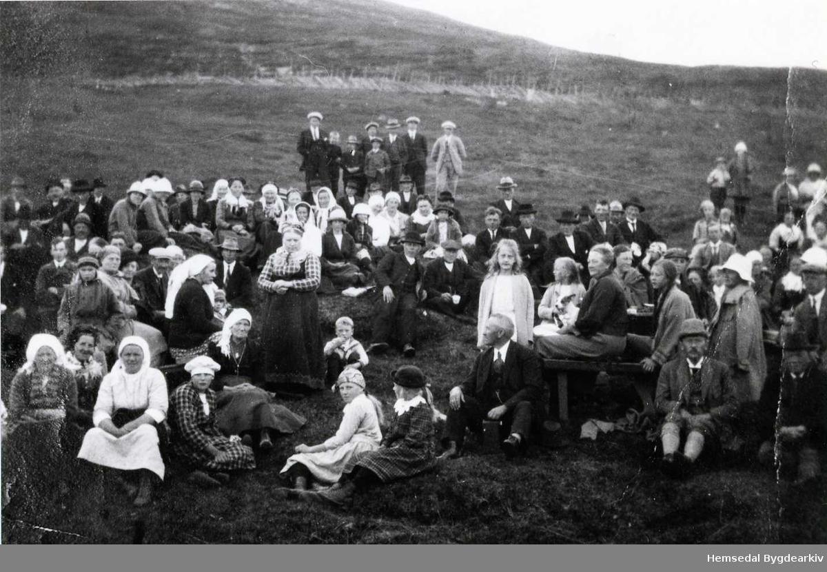 Stemne på Jordevollen, 65.1, i Hemsedal i 1926.