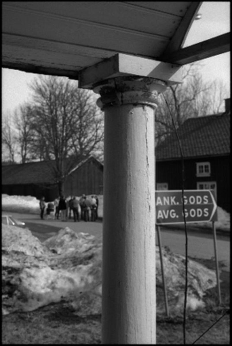 Bruksgatan i Bäckefors.