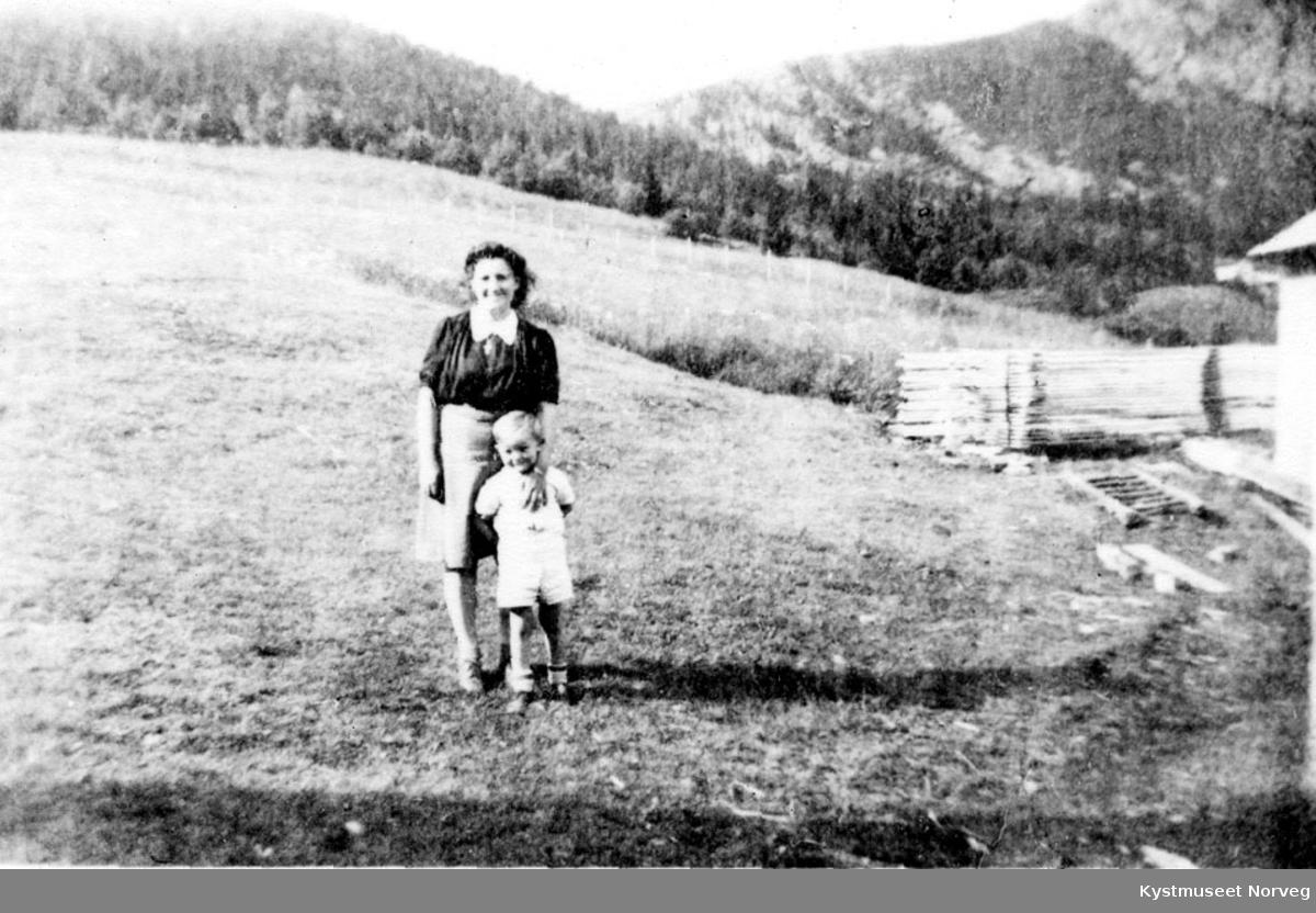 Flatanger - ukjent mor og sønn