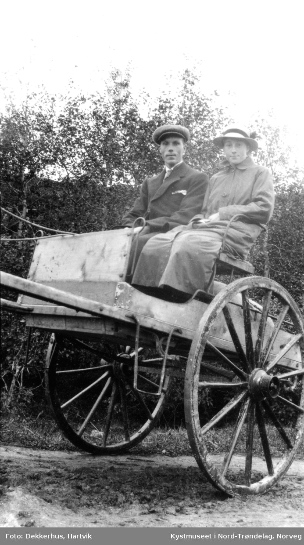 Jens og Bergitte Ofstad