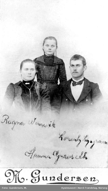 Ragna Lyngsnes Wennevik, Hanna Lyngsnes Gravseth og Lorentz Lyngsnes