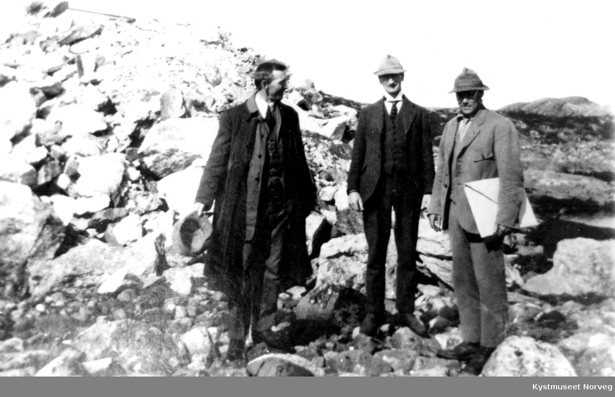 Jørgensen, Korsbrekka og Olav Wassås ved Ottersøy-anlegget