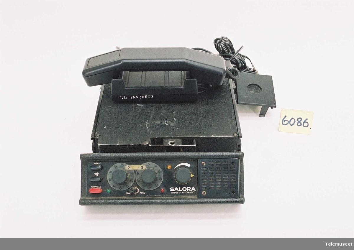 Telefonen: Salora  63 kanaler         Radiodel type: Nr 28416