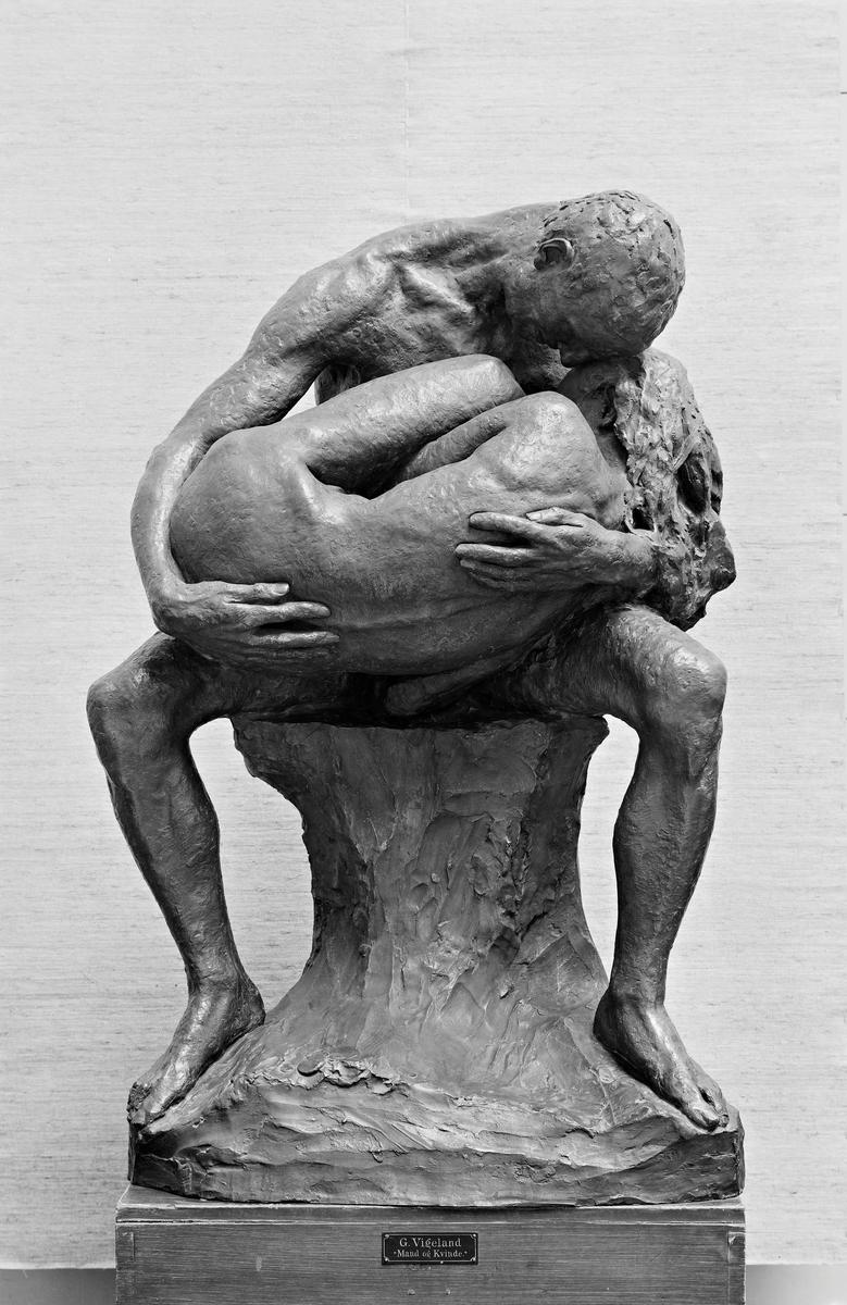 Mann og kvinne [Gruppe]
