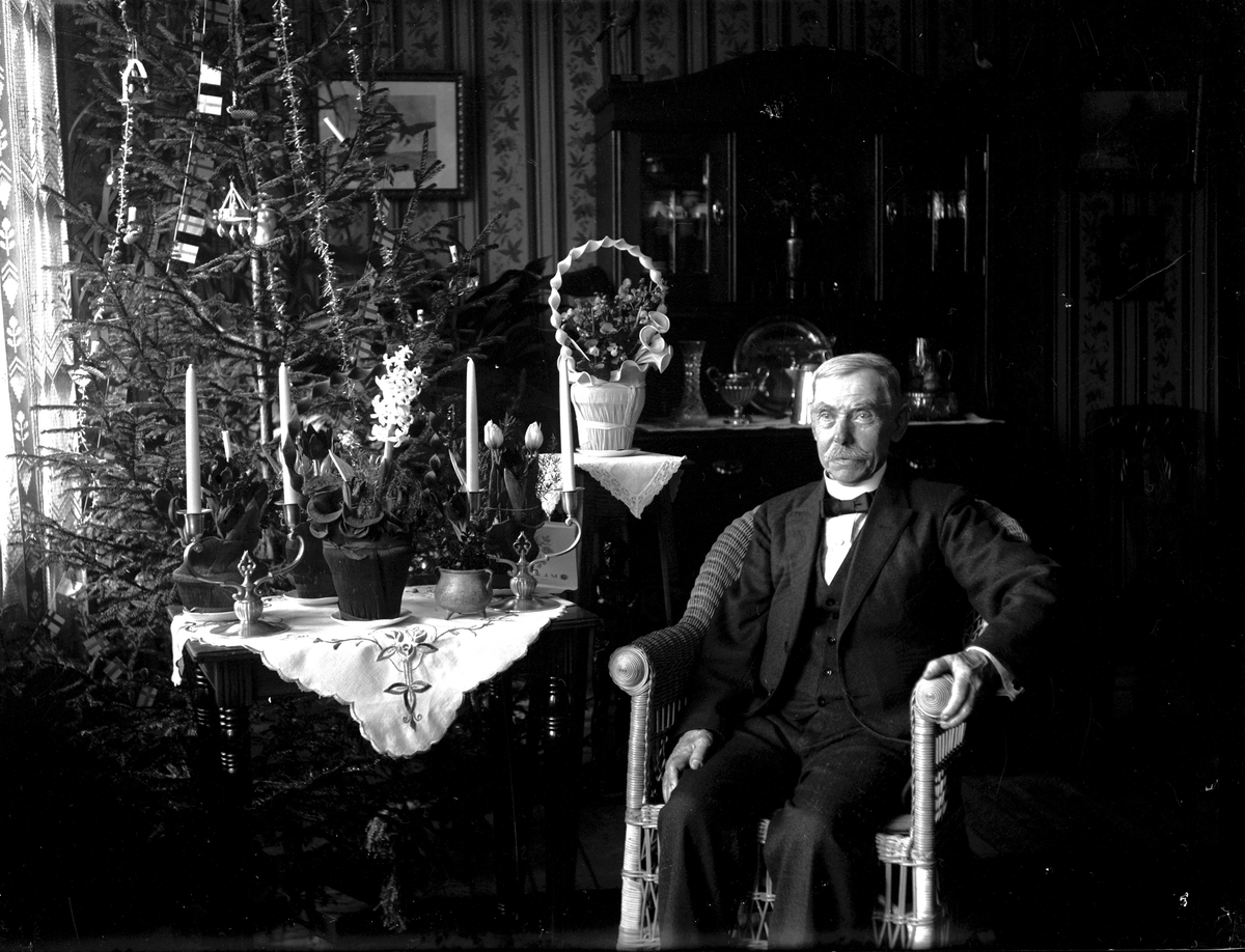 Verkstadsarbetare ,Ludvig Schröder, 1932. Fotograf: E Sörman.