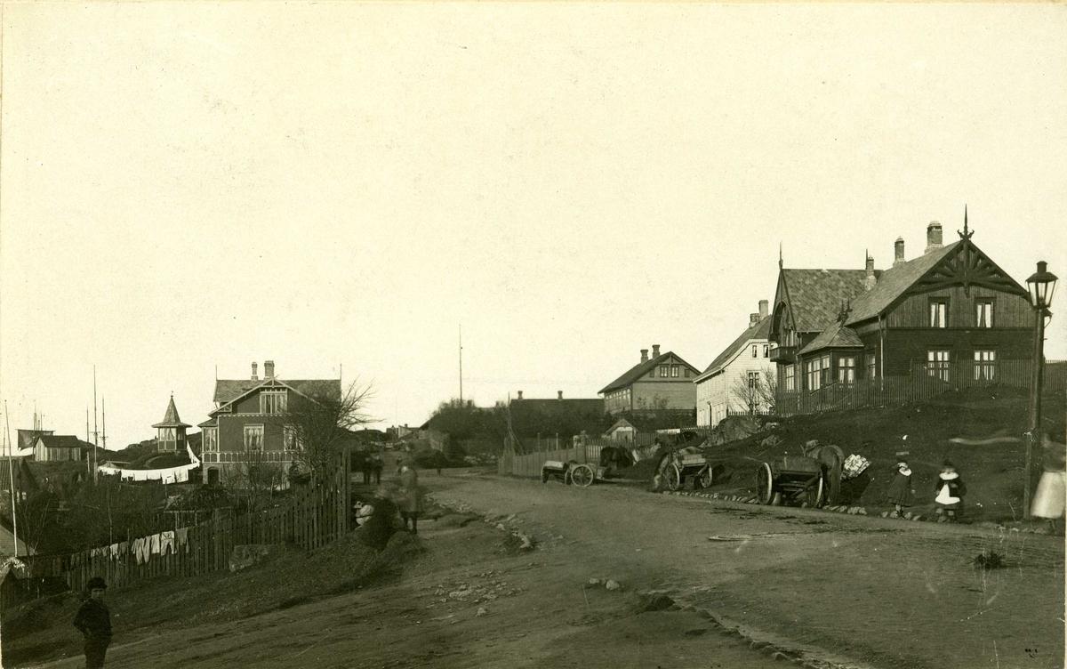 Byhus - bymiljø - hage