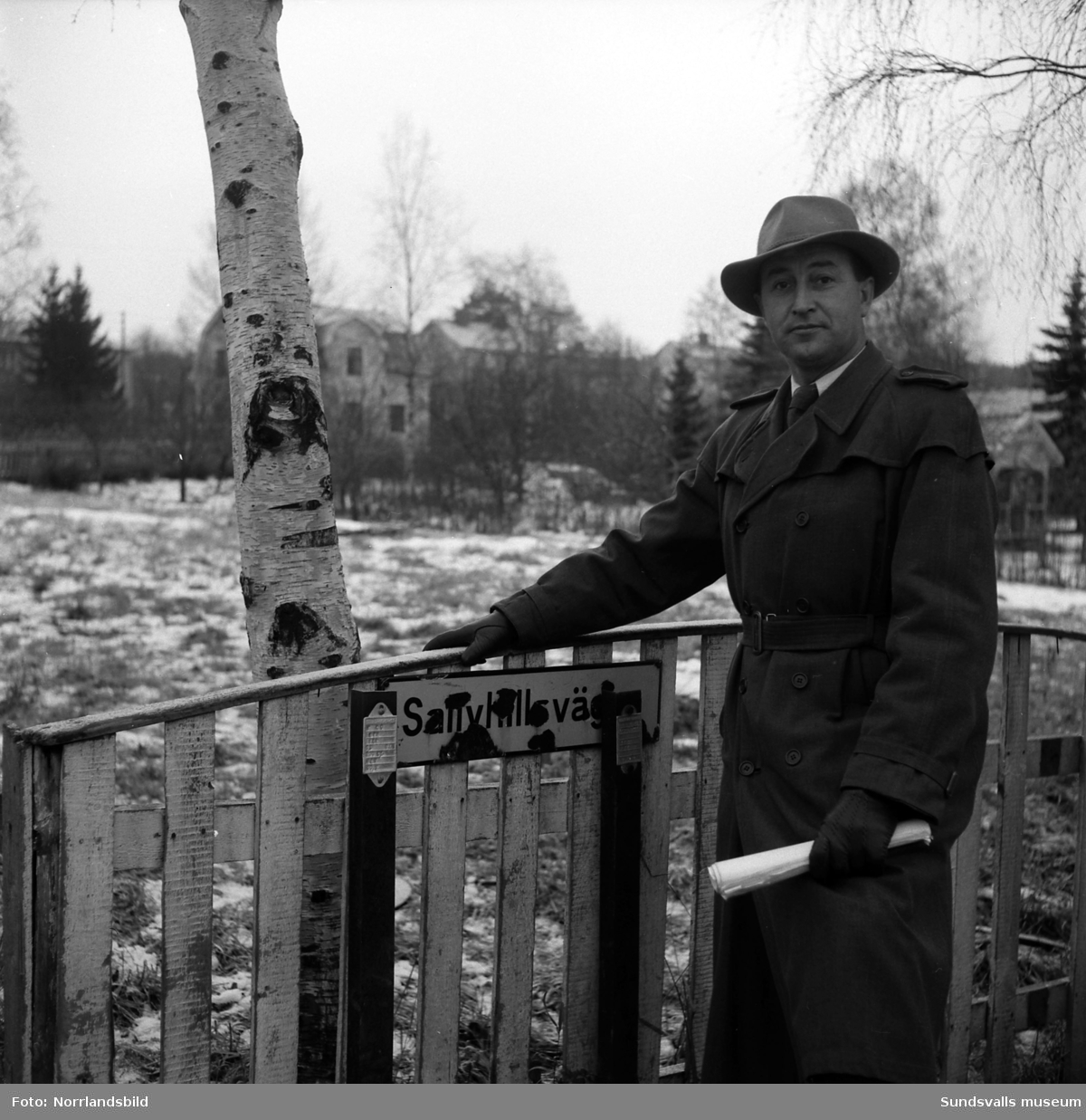 Poliskonstapel Evald Börjesson.