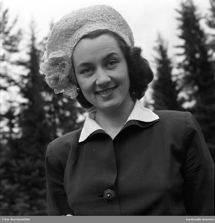 Fröken Anna Lundberg, Kvissleby.