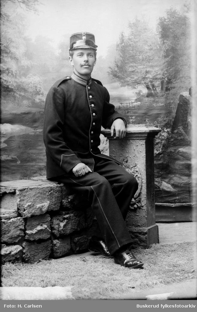 Juul Hansen fra Hvalmoen militærleir