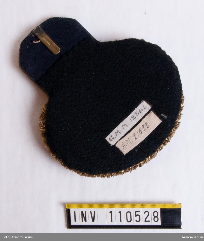 Epålett m/1830