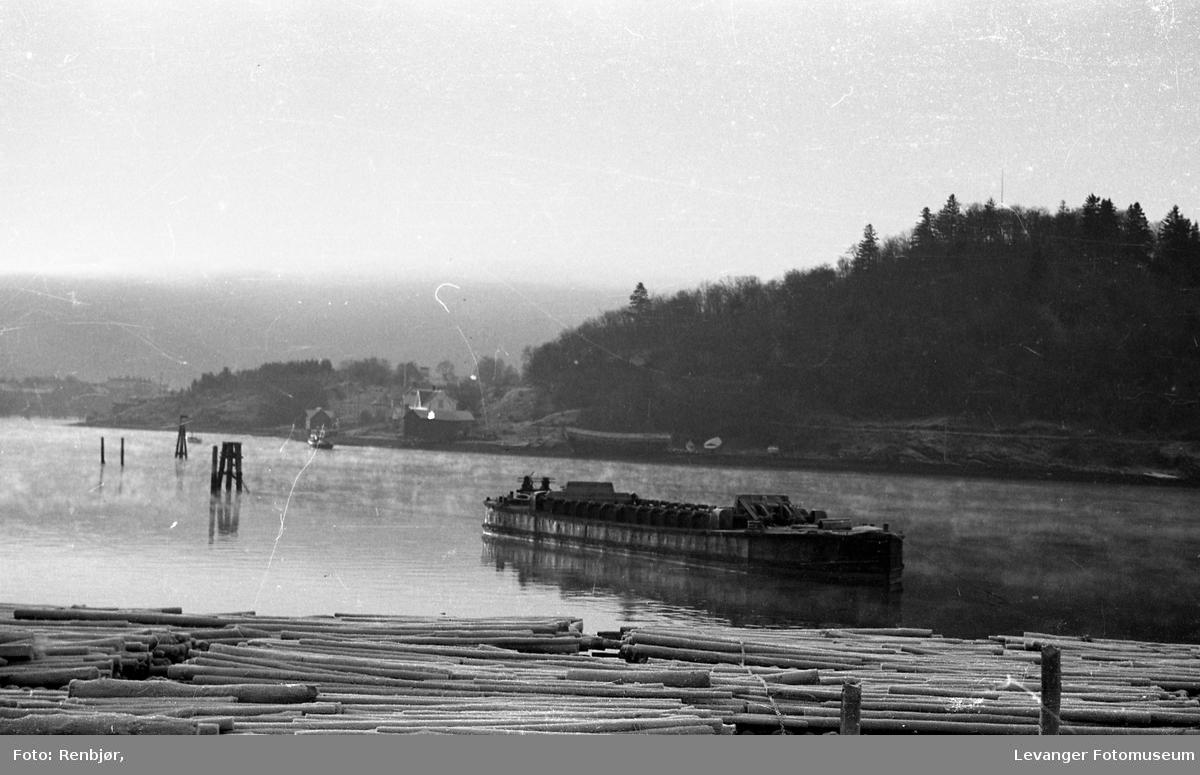 Mudderpram i Levangersundet