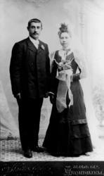 Alfred og Marie Horsengs brudebilde