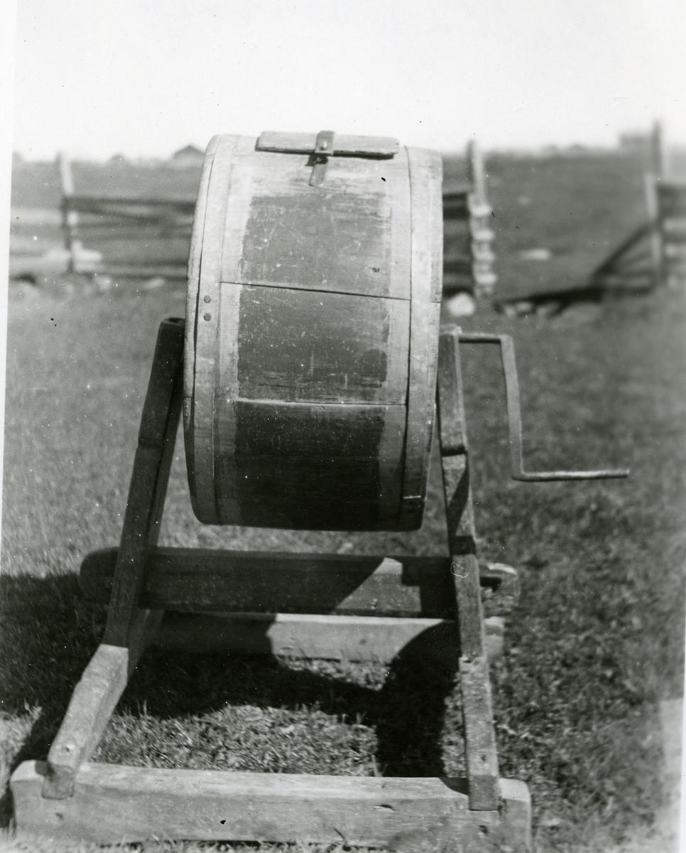 En rullekinne i fra Søre Svenes-stølen på Fløten i Nord-Aurdal.
