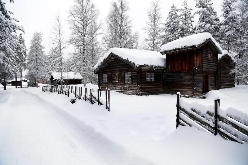 Barfrøstue vinter (Foto/Photo)