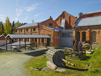 Klevfos Cellulose- & Papirfabrik. Foto/Photo