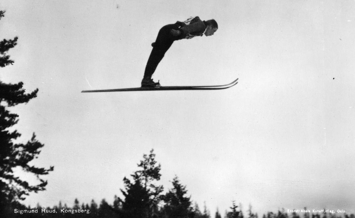Kongsberg skier Sigmund Ruud at Holmenkollen 1930