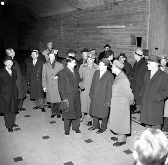 Vattenfall jubilerar, Trollhättan 29 januari 1959