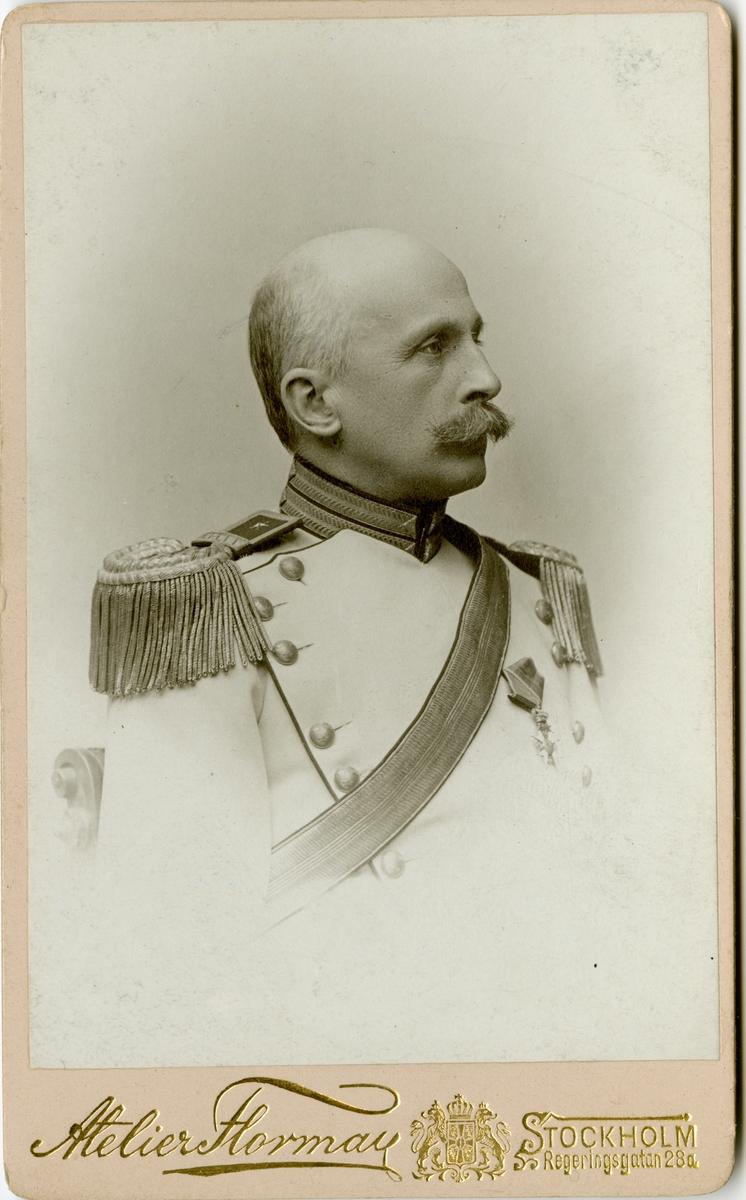 Porträtt av Carl Edward Arfwedson, major vid Livregementets dragoner K 2.