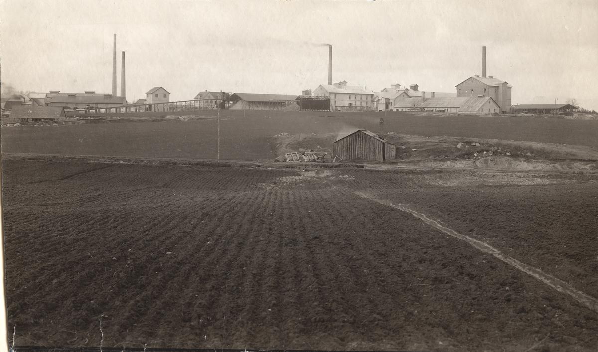 Maltesholms Cementfabrik, exteriör.