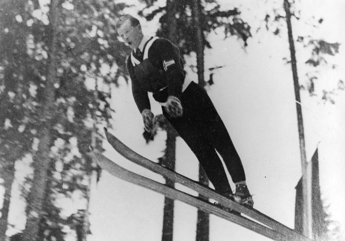 Kongsberg athlete Sigmund Ruud at Oberhof