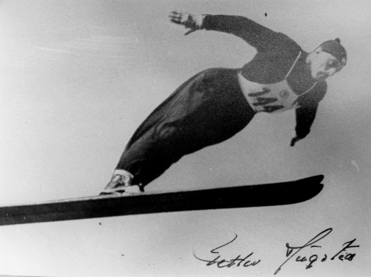 Kongsberg skier Petter Hugsted