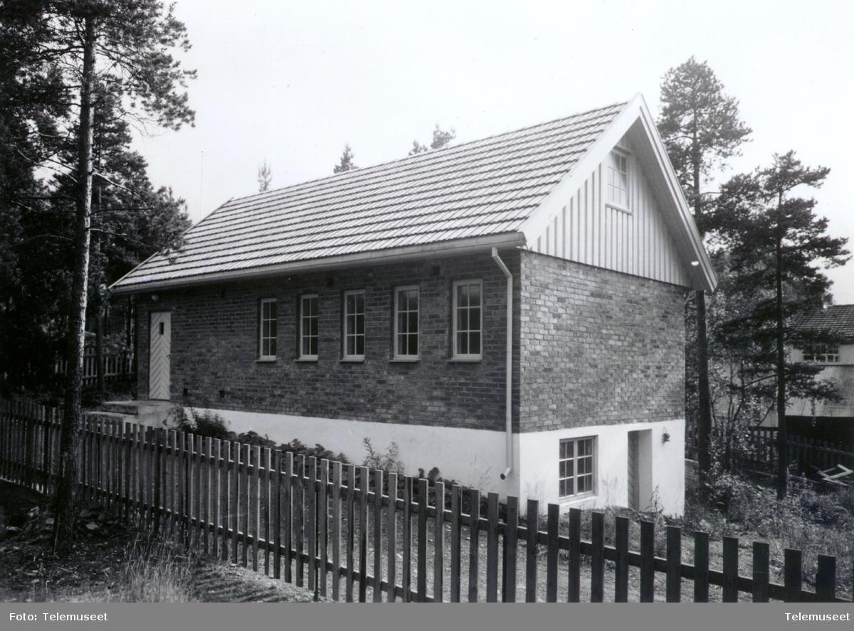 Moelven automatiske telefonsentral ca 1960