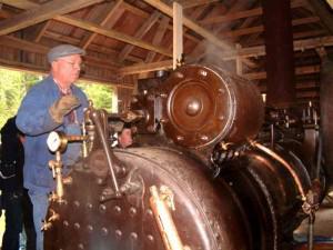 Dampmaskin Gaustadsjøsaga (Foto/Photo)