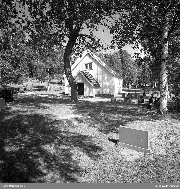 Galtströms kapell och klockstapel.