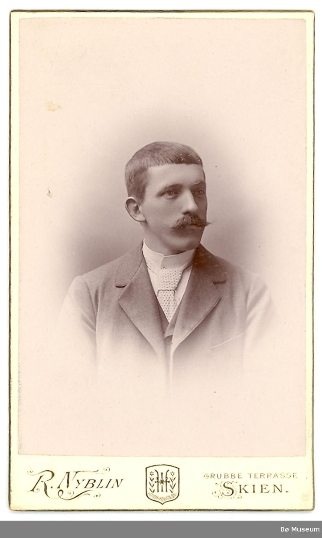 Mann, portrett