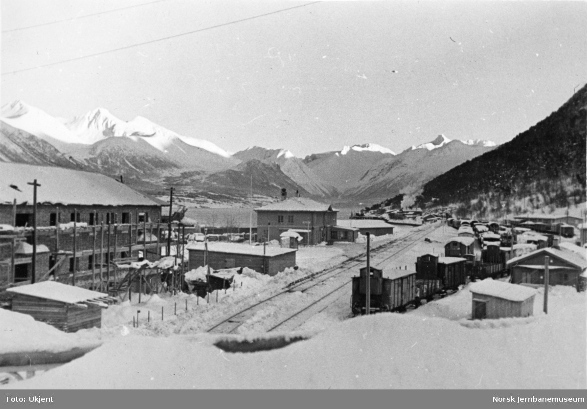 Åndalsnes stasjon i krigsårene