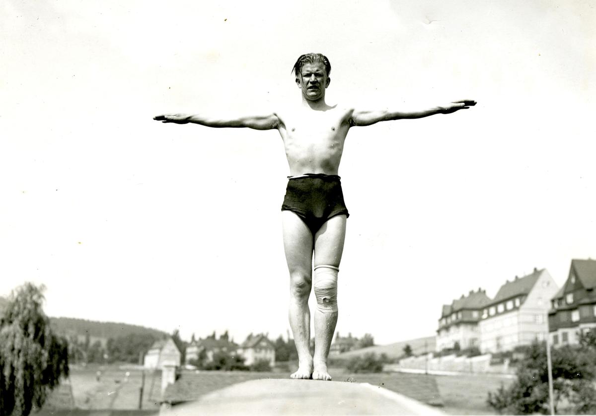 Athlete Birger Ruud in Germany